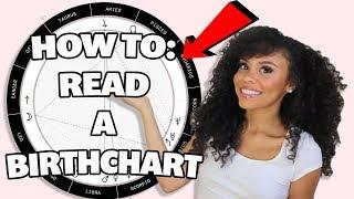 How To Read A  BIRTH CHART In 5 EASY Steps (Beginner Friendly) | 2019