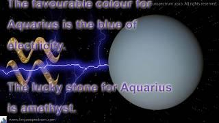 The English Astrology and Personality – Aquarius